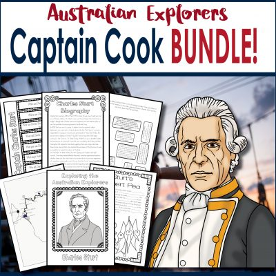 Captain Cook Square Cover TESTER ONLY