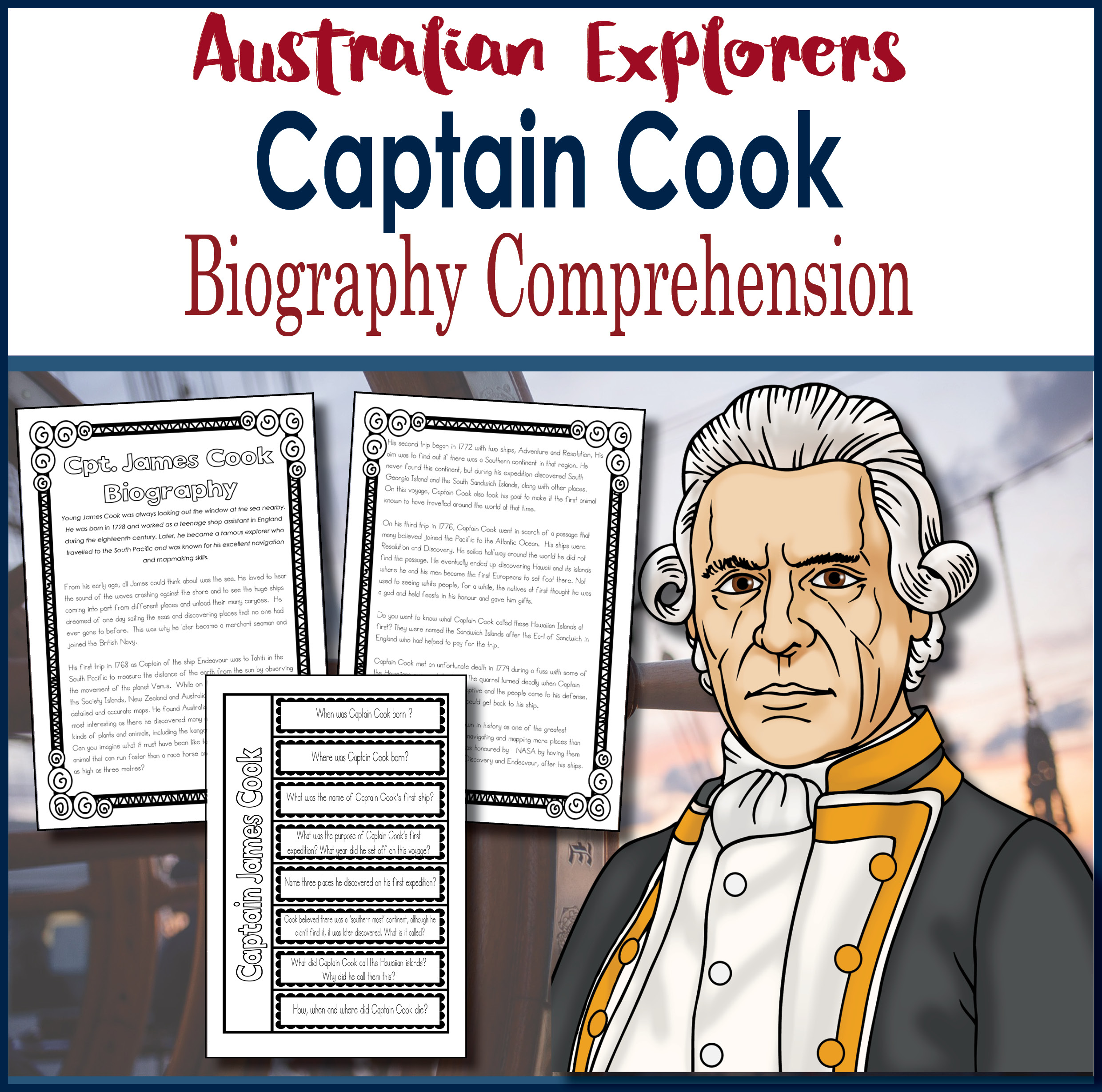 the life and explorations of james cook Captain james cook greatest explorer of his age: cook's early life and career: no one had made such long voyages of exploration with so little loss of life.