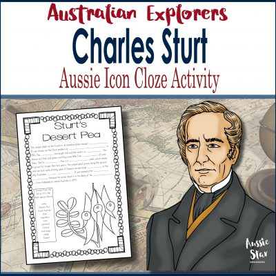 Charles Sturt Cloze Activity Square Cover TESTER ONLY