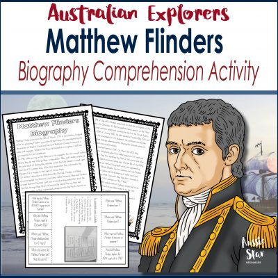 Matthew Flinders Biography Comprehension Square Cover