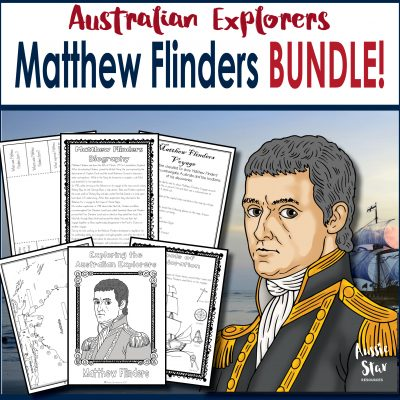 Matthew Flinders Square Cover TESTER ONLY
