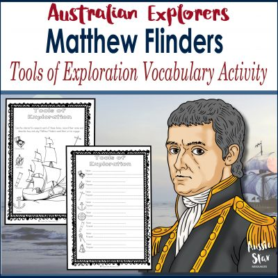 Matthew Flinders Tools of Exploration Square Cover TESTER ONLY