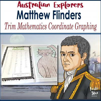 Matthew Flinders Trim Grid Maths Activity Square Cover TESTER ONLY