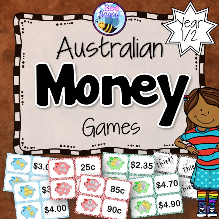 Australian Money Games for Junior Primary Students