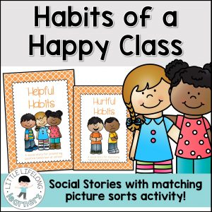 Teach your Prep, Foundation and Kindergarten students about appropriate behaviours | Good choices in the classroom | Social stories and posters for behaviour expectations | Australian Curriculum |