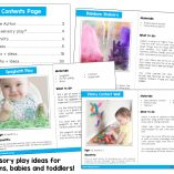 Sensory Play for your Little Learners - Preview
