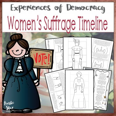 Women's Suffrage Timeline Square Cover TESTER ONLY