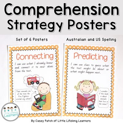 Comprehension Strategy Posters - Cover