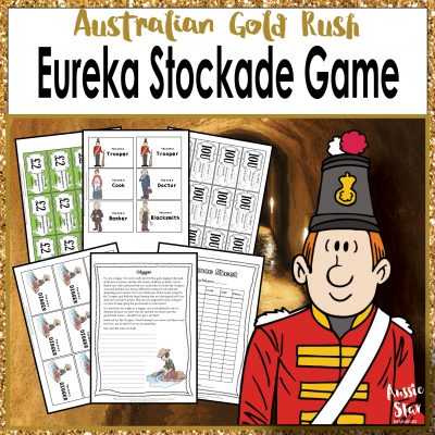 Eureka Stockade Game Bundle Square Cover TESTER ONLY