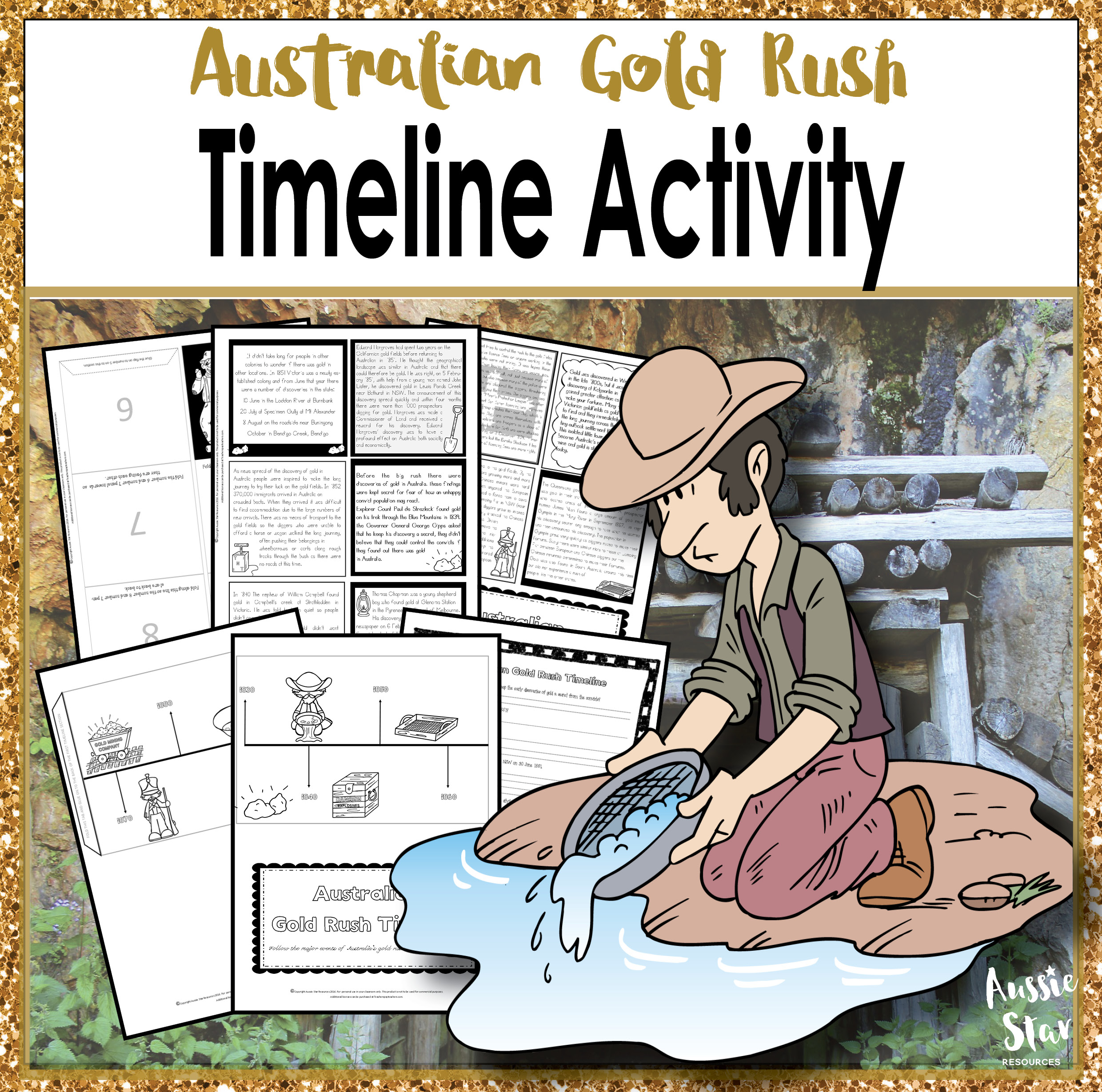 the australian gold rush During the australian gold rushes the coolgardie goldrush was the beginning of what has been described as the greatest gold rush in west australian history.