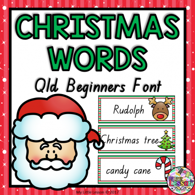 8X8 Cover Christmas Words Qld Beginners Font PNG