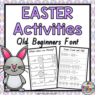 8X8 Cover Easter Activities Book Qld Beginners Font PNG