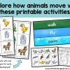 Explore animal movement with the fun activities included in this Science curriculum pack. The animal movement cards for a fun dice game are a great brain break and gross motor activity. You'll also find worksheets and printables for meeting the Kindergarten, Prep and Foundation Science Curriculum standards! These ideas will make it easy to write your lesson plans for Science especially in the Australian classroom!