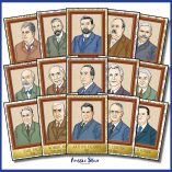 Australian Prime Ministers Poster Set Square Cover TESTER ONLY3