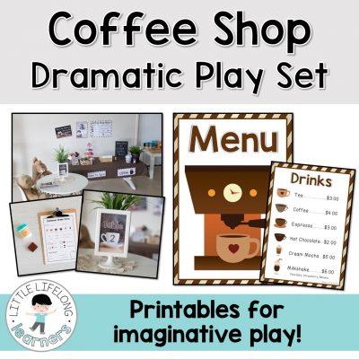 Coffee Shop Dramatic Play
