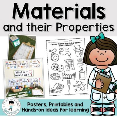 Materials and their Properties - A Foundation Unit of Work including printables, posters and hands-on activity ideas| Prep, Foundation and Kindergarten students | Australian Curriculum printables and resources