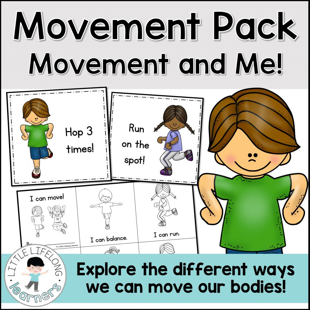 Explore the different ways our body can move with these fun activities for kindergarten and preschool kids! Use the body movement cards as a fun brain break or gross motor game! The printables are perfect for exploring ways to move or even as part of an 'all about me' science unit! These ideas will make it easy to write your Science Curriculum lesson plans for Prep and Foundation.