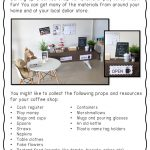 Coffee Shop Themed Dramatic Play printables for imaginative play | Printables and posters for your roleplay corner | Prep, Foundation and Kindergarten students | Australian Curriculum printables and resources