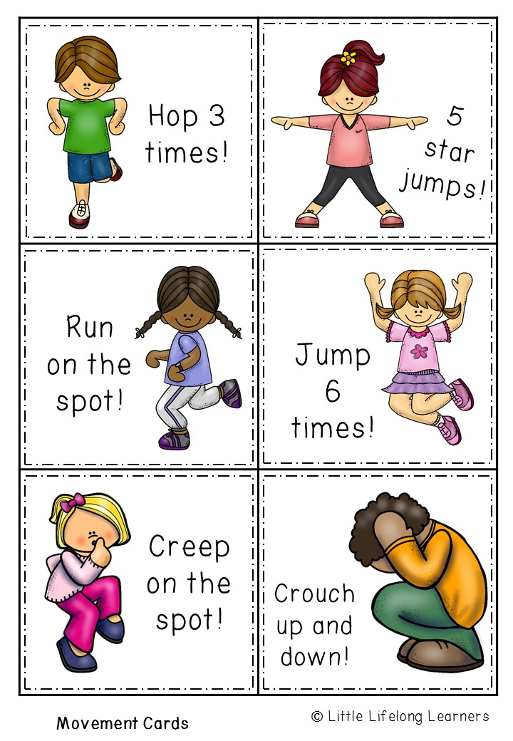 Songs About Moving Exercise Kids
