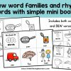 Learn about word families and rhyming words with these mini word family books! Perfect for early readers, emergent readers, pre-readers and even struggling readers, your kindergarten and preschool kids will love decoding the simple CVC and CCVC words in these books! Use these in your literacy centers, reading groups or phonemic awareness lessons! Includes Australian fonts – QLD Beginner's, NSW Foundation, VIC Modern Cursive.