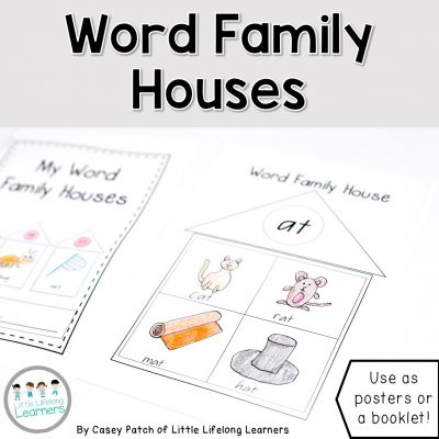 Word Family and Rhyming word activity worksheets | Prep, Foundation and Kindergarten students | Australian Curriculum printables and resources