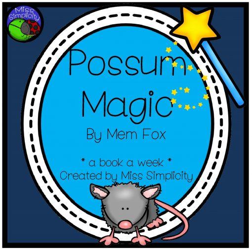 Possum Magic square cover