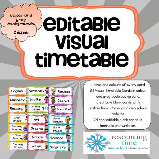 Visual Timetable Cover