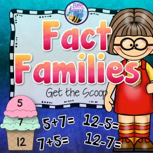 Maths Resource covering fact families