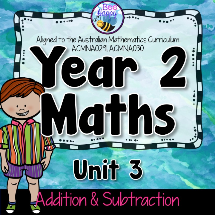 Year 2 Maths Unit 3 Addition and Subtraction Worksheets and Task ...