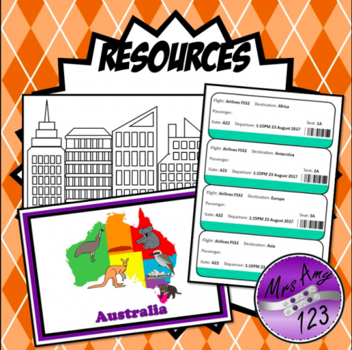 Foundation HASS Places and Features Resources Mrs Amy123