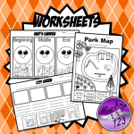 Foundation Reception HASS places and features worksheets