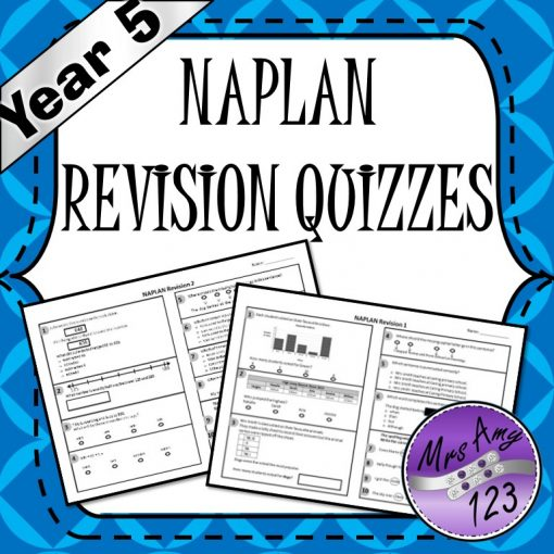 Year 5 Naplan Quizzes Mrs Amy123