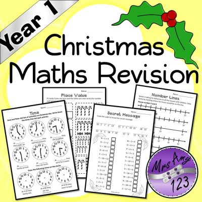Year 1 Christmas Maths Revision Mrs Amy123