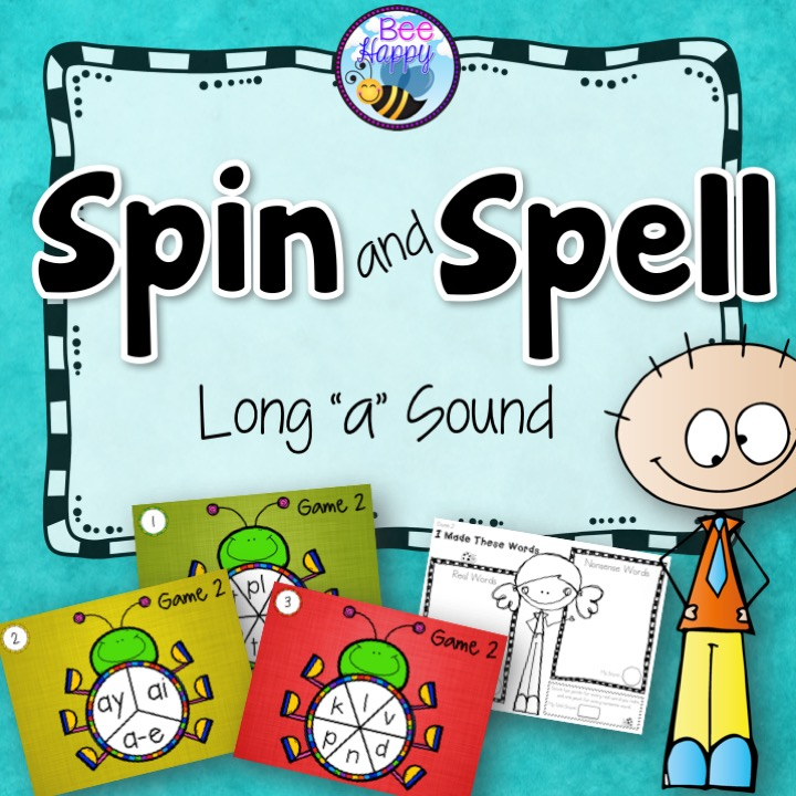 "Long ""A"" sound word game"