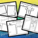 Spin and Spell Blends and Digraphs example worksheets