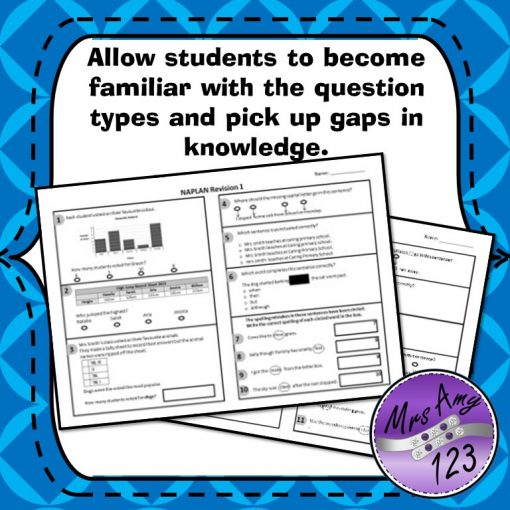 Year 5 Naplan Quizzes Allow students to become familiar with the question types and pick up gaps in knowledge
