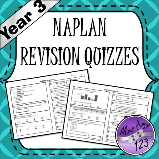 Year 3 Naplan Quizzes Mrs Amy123