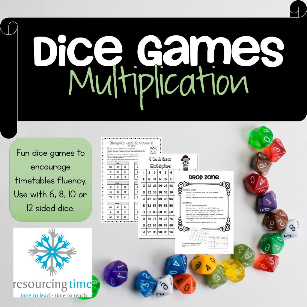 Maths Games, Multiplication, Timestables