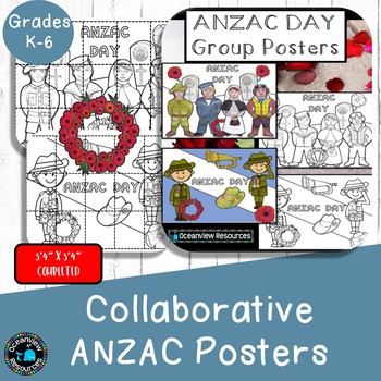 Collaborative Poster ANZAC DAY