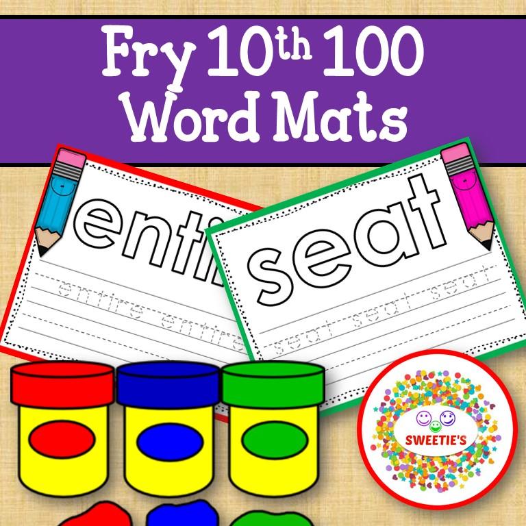 Fry Mats 10th 100 Color