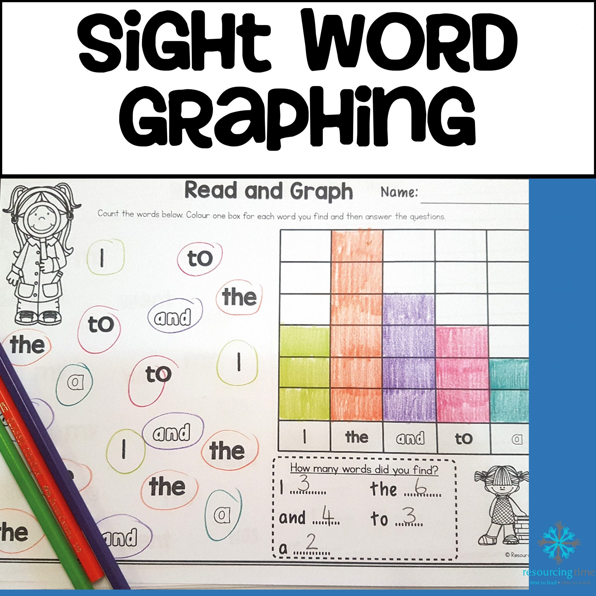 sight word graphing oxford word list 1 to 100 the alphabet tree