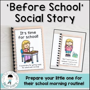 Help your little learner get ready for school in the morning with this simple social story! Featuring different morning routines like brushing your teeth, putting your uniform on and packing your lunch. Perfect for children starting Prep, Foundation, Kinder and Preschool!