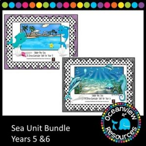Ocean life-sea unit for upper primary (bundle)
