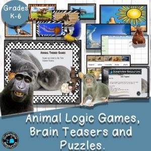Animal Themed Logic Games