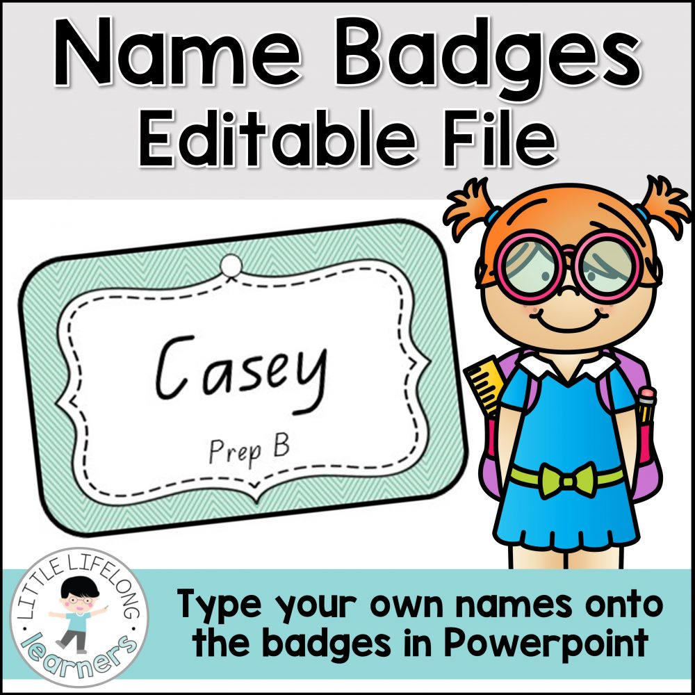 These editable name tags are perfect for your students to wear as badges on the first day of school! Get to know your Preschool and Foundation kids this back to school season with this editable printable templates. Perfect for classroom use during the first week of school!